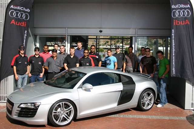 Audi club sa cape town garage day audi cape town for Garage audi tours